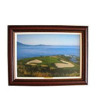 CGI Sports Memories Pebble Beach 7th Hole Framed Print