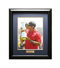 CGI Sports Memories Tiger Woods - 2008 US Open Trophy Framed Print