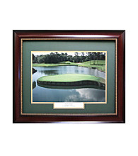CGI Sports Memories TPC Sawgrass-17th Hole Framed Print