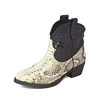 "Sam Edelman® ""Stevie"" Western Boot - Roccia/Black"