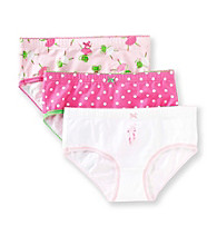 Carter's® Girls' 2-5 Pink/White 3-pk. Ballerina Panties