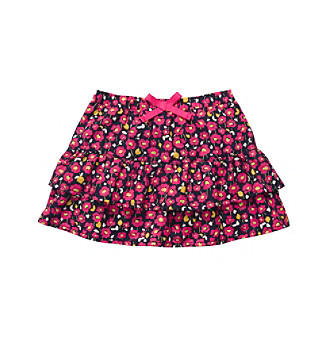 OshKosh B'Gosh® Girls' 2T-4T Pink/Navy Ditsy Print Skirt