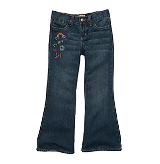 OshKosh B'Gosh® Girls' 4-6X Rainbow Flare Jeans