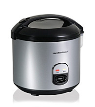 Hamilton Beach® 20-Cup Rice Cooker & Food Steamer