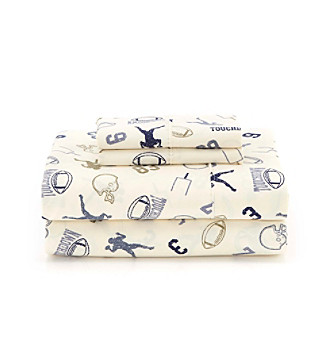 LivingQuarters Cold-Weather Performance Football Sheet Sets