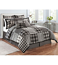 Dublin Plaid Duvet Collection by Joseph Abboud®