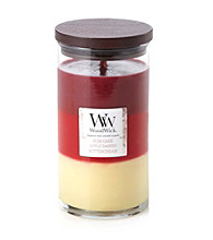WoodWick® Rum Cake/Apple Danish/Buttercream Layered Jar Candle by Virginia Candle Company™