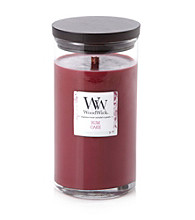 WoodWick® Rum Cake Jar Candle by Virginia Candle Company™