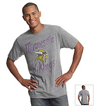 Junk Food® Men's Steel Grey Vikings Gameday Tee