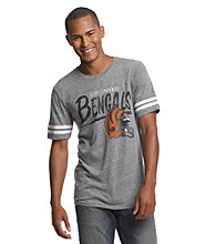 Junk Food® Men's Steel Grey Bengals Throwback Tee