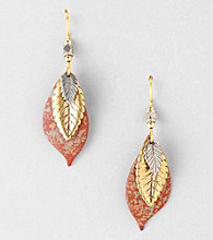 Silver Forest® Mixed Metal Layered Earrings
