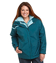 Columbia Plus Size Outer West Interchange Solid Jacket