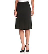 Kasper® Inverted-Pleat Skirt