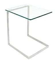 Lumisource® Zenn Glass End Table