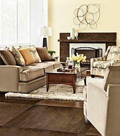 HM Richards Zibo Microfiber Living Room Collection