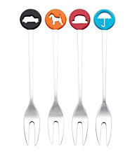 Royal Doulton® Pop in for Drinks Set of 4 Cocktail Forks