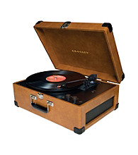 Crosley® CR6249A Deluxe Keepsake Portable USB Turntable
