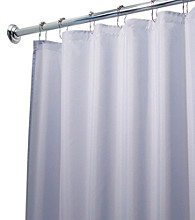 InterDesign® Waterproof Poly Shower Curtain Liner