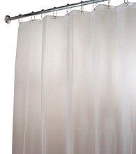 InterDesign® Clear Frost EVA Shower Stall Curtain Liner