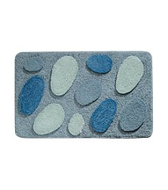 InterDesign® 34x21 Blue Pebblz Rug