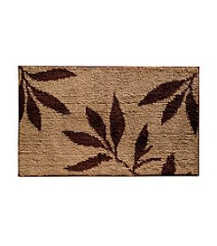 InterDesign® 34x21 Leaves Rug