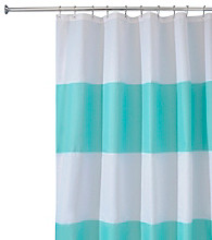 InterDesign® Zeno Waterproof Shower Curtain