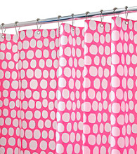 InterDesign® Honeycomb EVA Shower Curtain