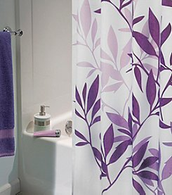 InterDesign® Leaves Shower Curtain