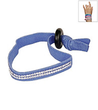 PAJ® Dark Blue Band Crystal Bracelet