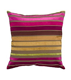 Chic Designs Stripes Decorative Pillow