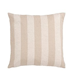 Chic Designs Ivory and Beige Calming Colors Decorative Pillow