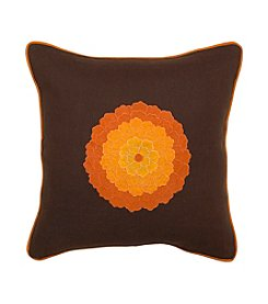 Chic Designs Multi-Colored Flower Decorative Pillow