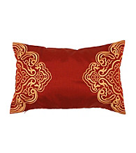 Surya Red and Gold SheenDecorative Pillow