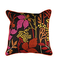 Surya Dark Chocolate Autumn Decorative Pillow