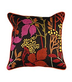 Chic Designs Dark Chocolate Autumn Decorative Pillow