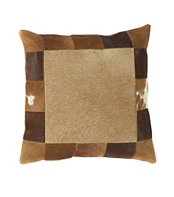 Chic Designs Caramel and Brown Western Decorative Pillow