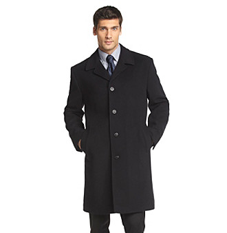 "MICHAEL Michael Kors® Men's 38"" Five-Button Wool Topcoat"