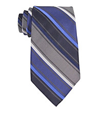 Calvin Klein Men's Beta Stripe Tie