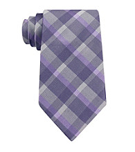 Calvin Klein Men's Reflection Plaid Tie