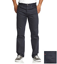 Levi's® Men's Postal Blue 501 Shrink To Fit Jeans