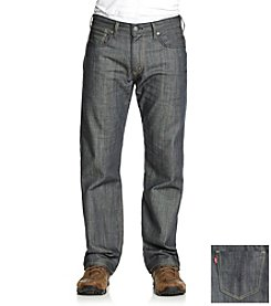 Levi's® Men's Light Gray Rigid 569 Loose Straight Fit Jean