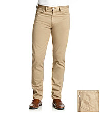 Levi's® Men's Khaki 508 Twill Slim Taper Pants