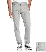 Levi's® Men's Gray 508 Twill Regular Taper Pants