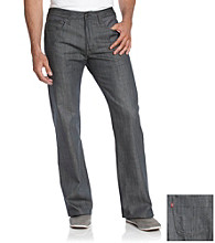 Levi's® Men's Light Gray 569 Styled Loose Straight Fit Jean