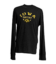 J. America® Men's Black Vintage Iowa Team Graphic Top