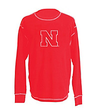 J. America® Men's Red Vintage Nebraska Team Thermal
