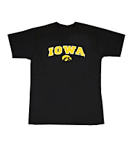 J. America® Men's Black Iowa Arch Logo Tee