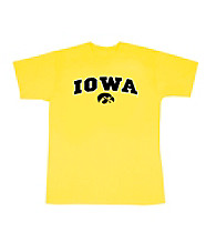 J. America® Men's Yellow Iowa Arch Logo Tee