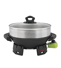 T-fal® Balanced Living Wok with Steamer