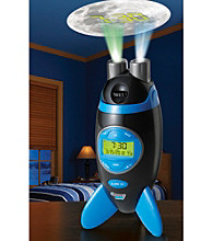 Discovery Kids® Projection Rocket Clock